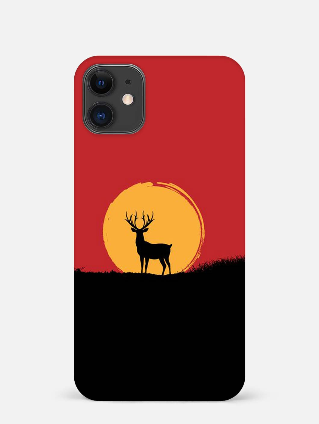 Reindeer iPhone 12 Mini Mobile Cover