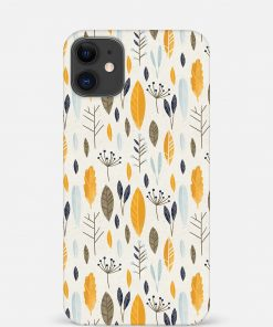 Botanical Pattern iPhone 12 Mini Mobile Cover
