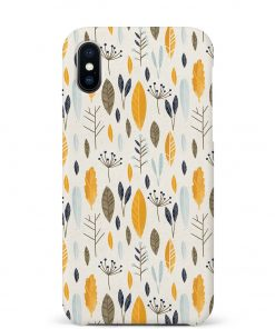 Botanical Pattern iPhone Xs Max Mobile Cover