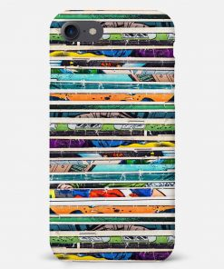 Comic Stack iPhone SE Mobile Cover