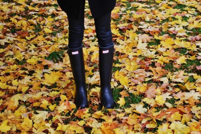 love autumn hunter boots