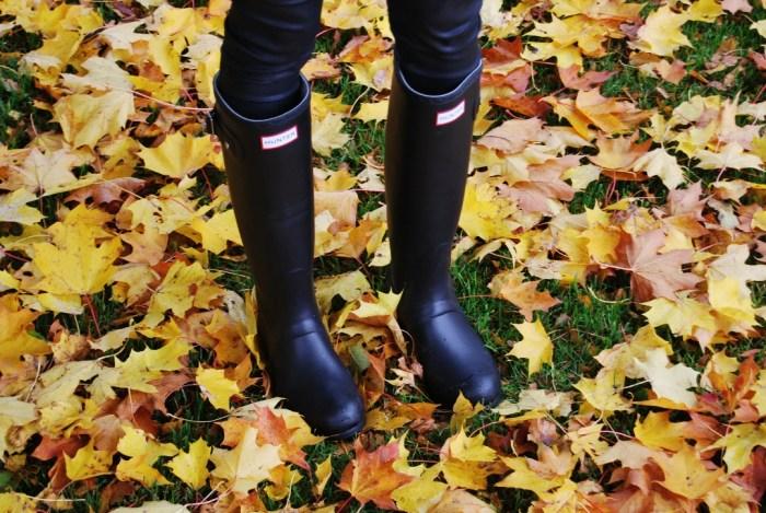 hunter boots love