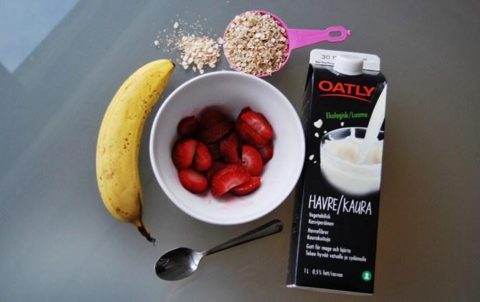 porridge ingredients