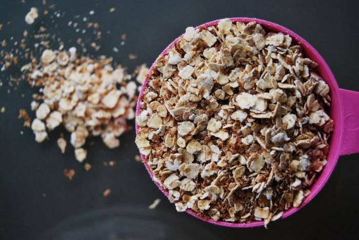 fiber oats porridge