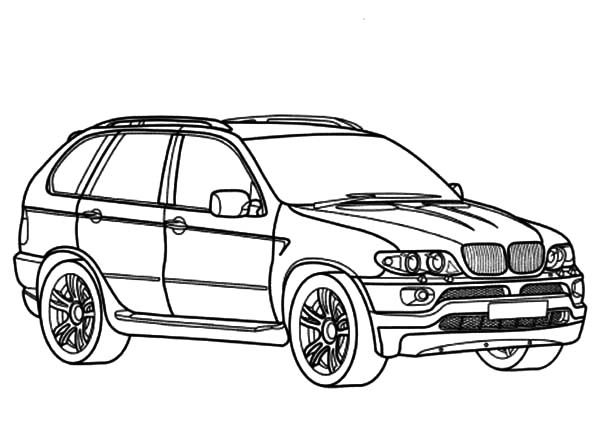 Free coloring pages of bmw