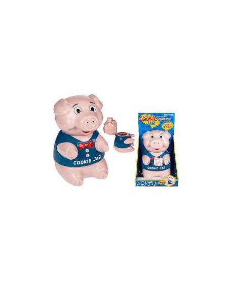boite a biscuit cochon avec bruit