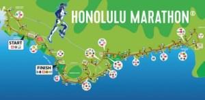 ホノルルマラソンコース