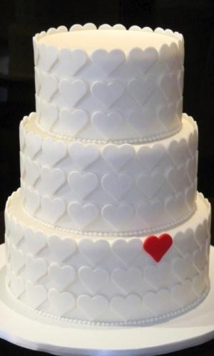 Bolo de Casamento Simples e Pequeno Fotos  Toda Atual