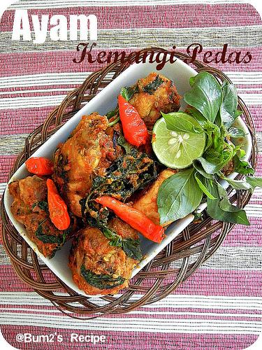 Resep Ayam Kemangi Pedas : resep, kemangi, pedas, Resep, Kemangi, Pedas, Todachi, Indonesia