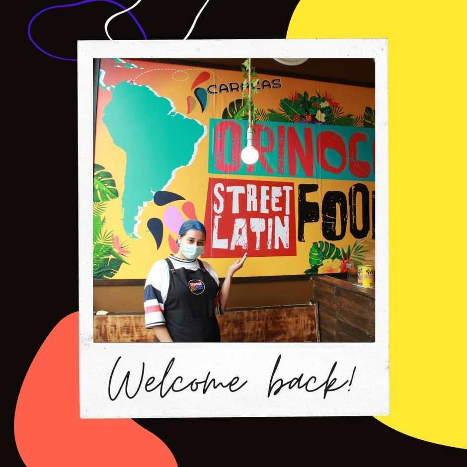 Orinco Latin Food Welcome back
