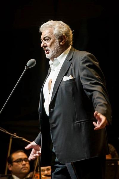 Placido Domingo en Chile
