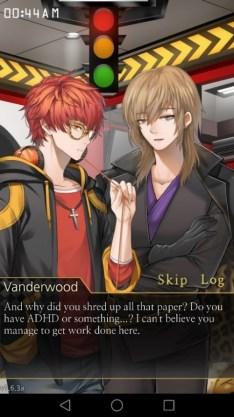 Vanderwood comienza con las sospechas
