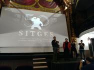 Presentación del documental con Lee, de Vir y Defreest