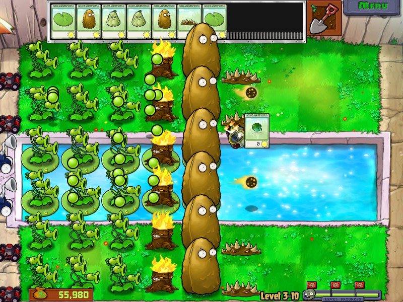 Plants Vs Zombies There S A Zombie On Your Lawn