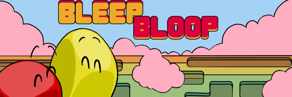 bleep bloop cabecera