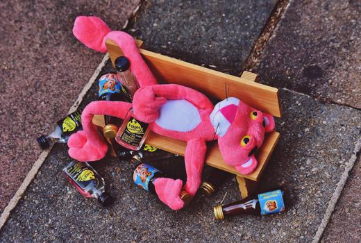 pantera rosa pocha