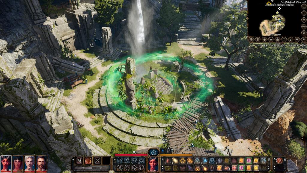 Balgur's Gate 3 - Arboleda druida