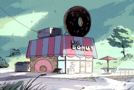 Tienda Big Donut de Steven Universe