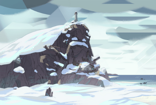Templo nevado de Steven Universe