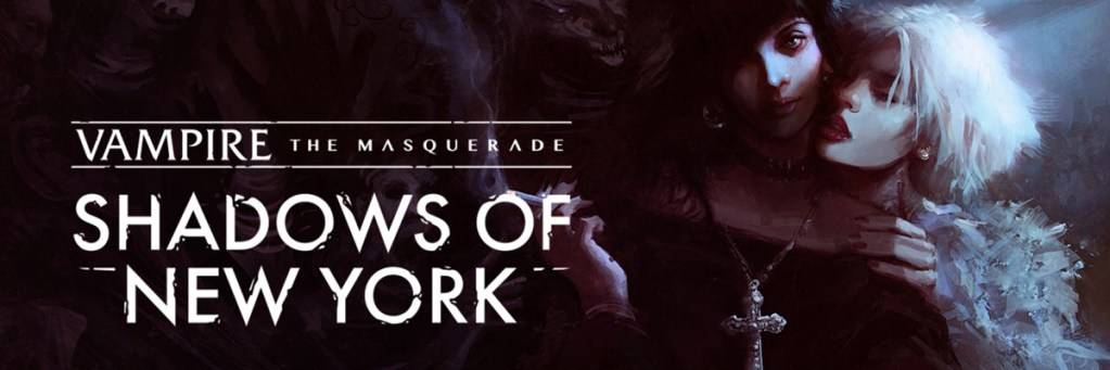 Banner Vampire The Masquerade Shadows of New York