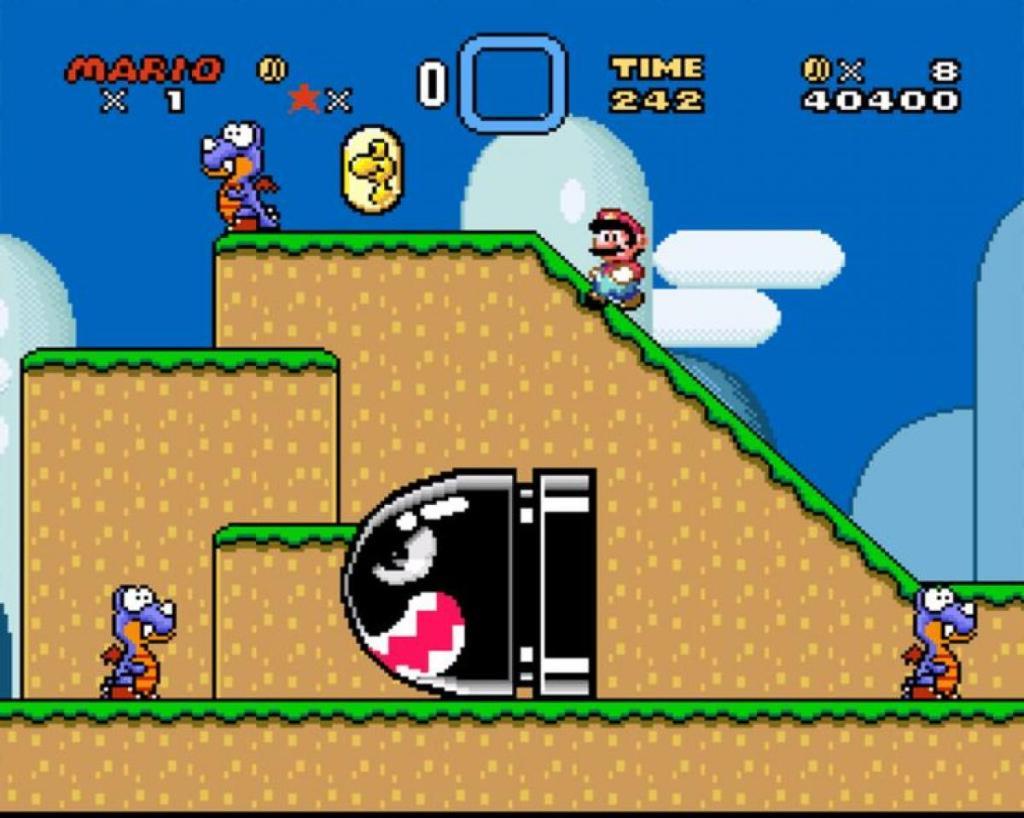 Super Mario Wold Mundo 1