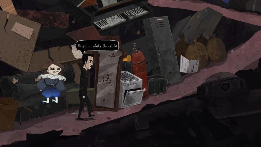 Whateverland - Nick y Vincent pasean por el basurero