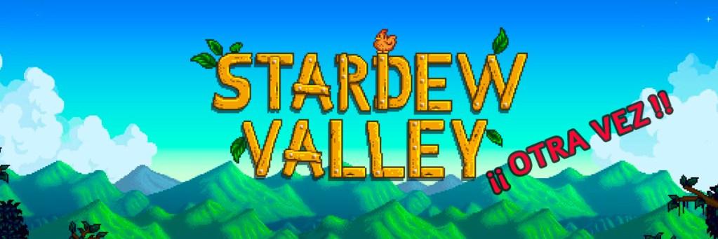 Banner Voviendo a Stardew Valley