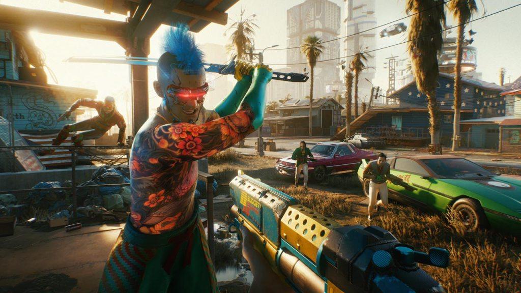 Captura de Cyberpunk 2077