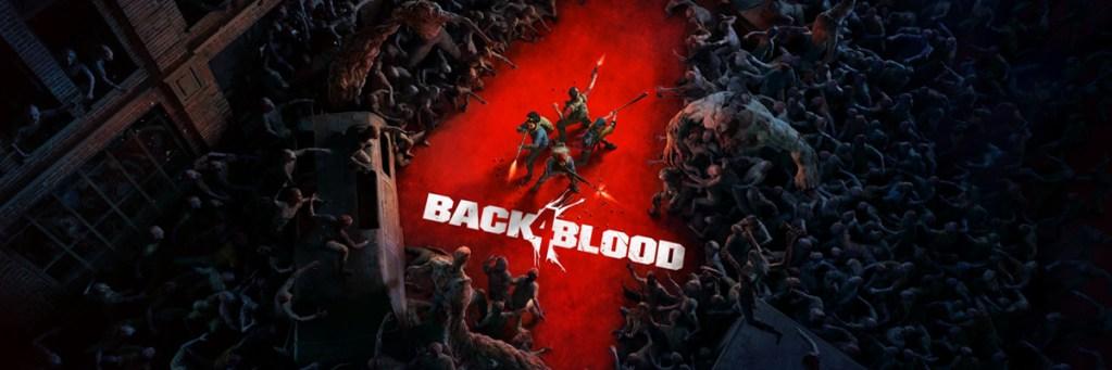 un cuatro rojo formado por un hueco entre infinidad de infectados y cuatro exterminadores en el centro