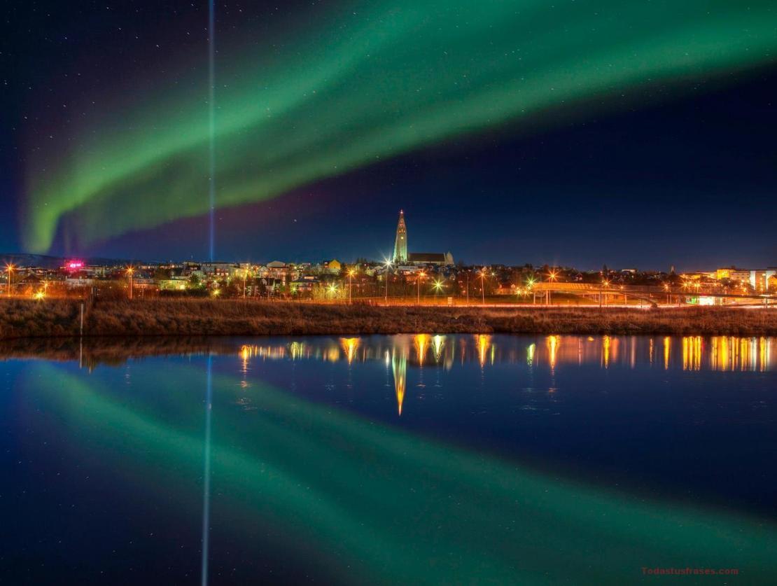 Fondos de pantalla de aurora boreal