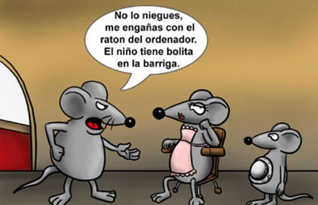 Chistes gráficos animales ratones