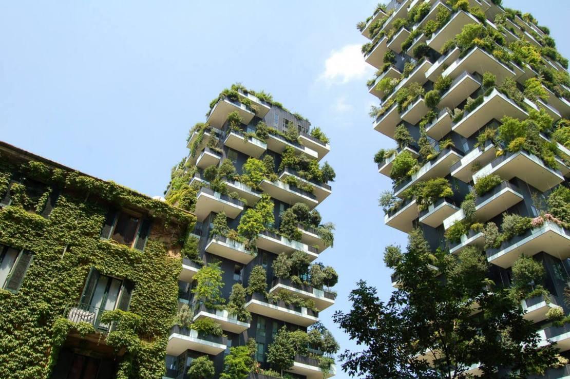 Fondos de pantalla de arquitectura sostenible en FullHD