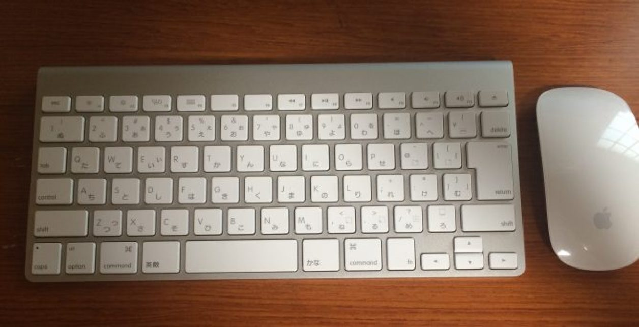 Apple Wireless KeyboardとMagic Mouse