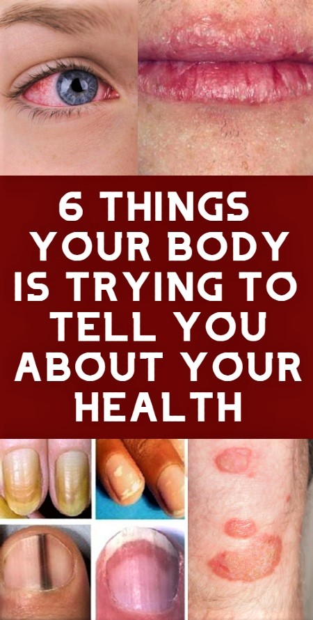 6 Body Indicators About Your Overall Health