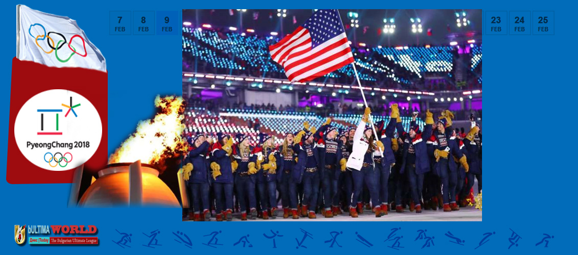 USA at Winter Olympic 2018