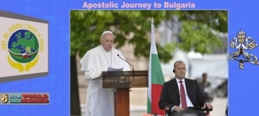 Pope in Bulgaria