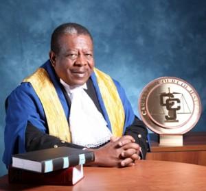 CCJ President, Sir Dennis Byron