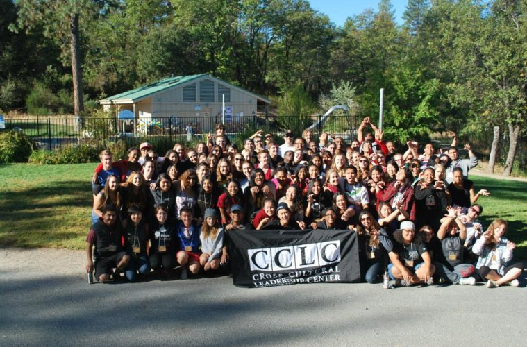 Large group of students who participated in the CCLC diversity summit