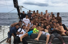 The Chico State men's soccer team took in the sights and sounds of Spain, both on land and in the Mediterranean Sea,