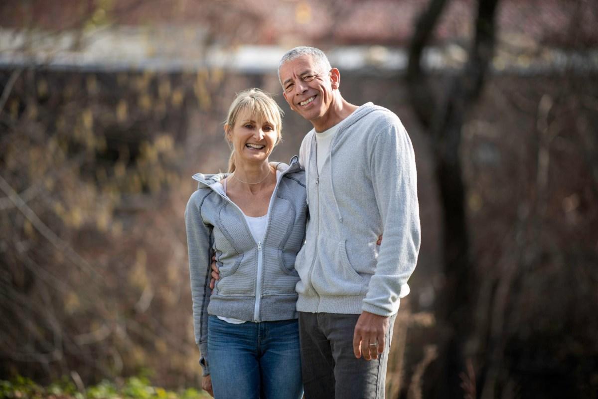 Portrait of Catrina Himberg and John Roussell