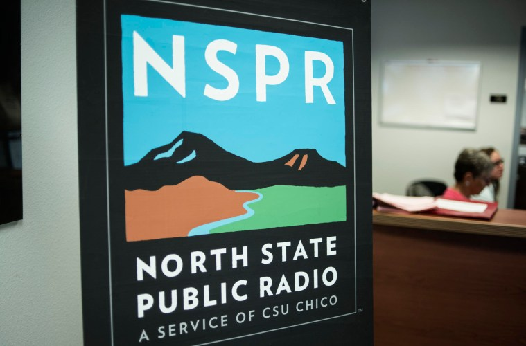 NSPR logo banner outside their office
