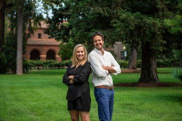 Faculty co-presenters Jennifer Malkowski and Stephen Caldes