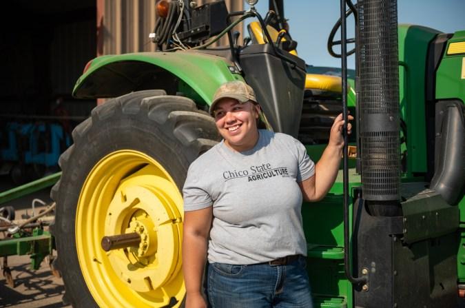 Saira Barajas at University Farm