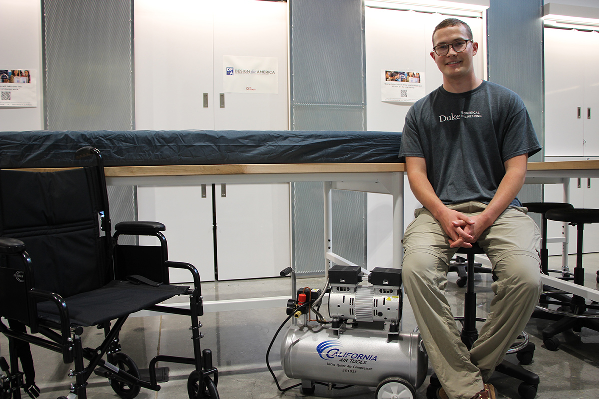 Biomedical Engineering Senior Turns Idea Into Device to