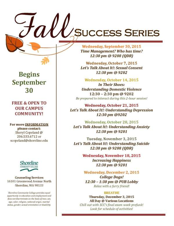 success series fall _ updated