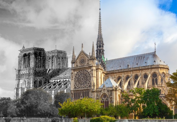 Notre Dame Fire Affected - Texas & Today