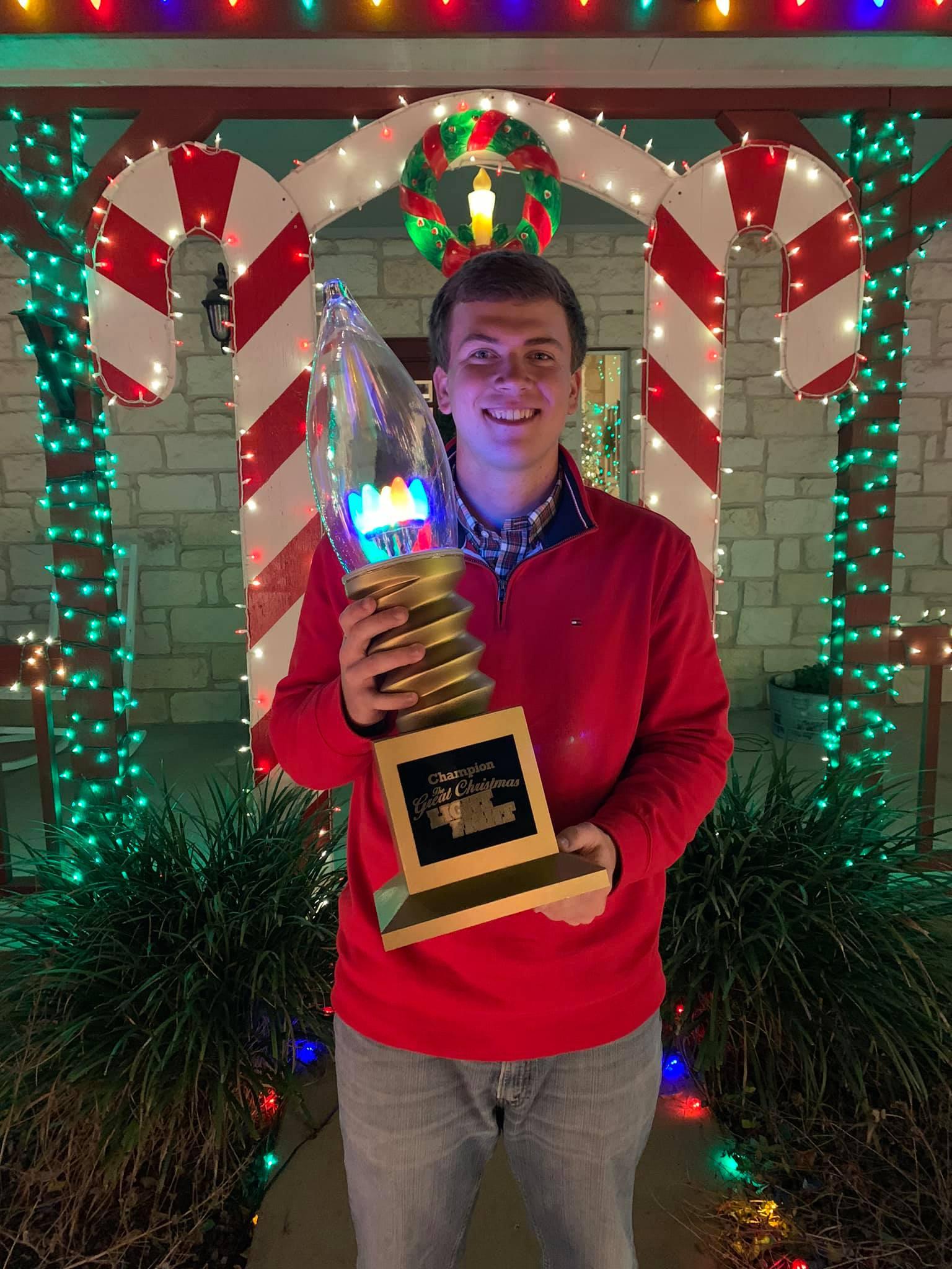 Gullo House Christmas Lights 2020 : gullo, house, christmas, lights, Texas, Student, ,000, ABC-TV, Lights, Display, Today