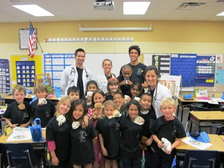MD Students Hold Teddy Bear Clinic  University of Central Florida News  UCF Today