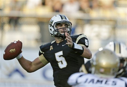 Football QB Bortles Leads Knights To 1 0 Start