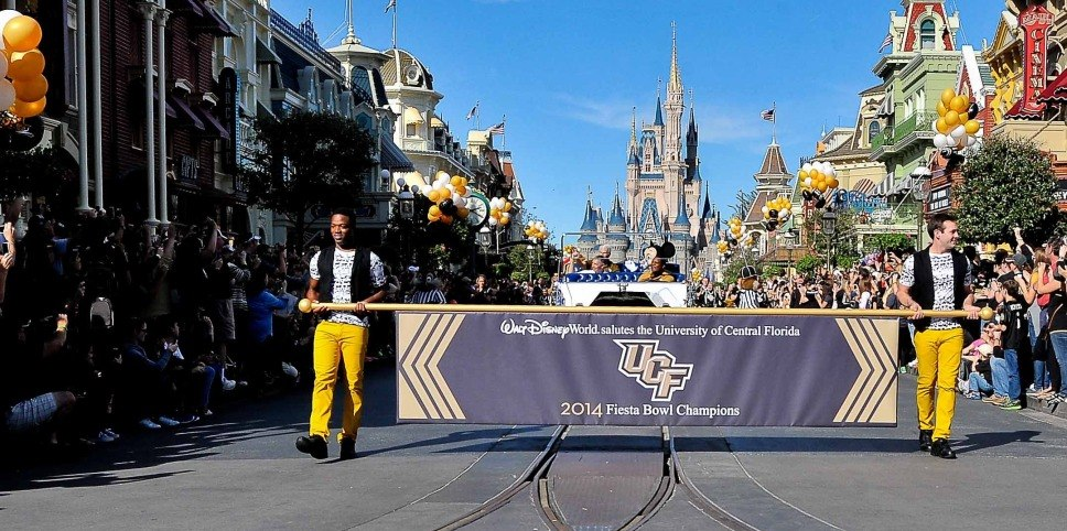 Knights on Parade A UCF Takeover at the Magic Kingdom